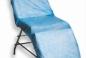 Чехол на кушетку, многоразовый, голубой, материал: полиэтилен, размер: 210 x 90 см., плотность: 25 г/м2, 1 шт.